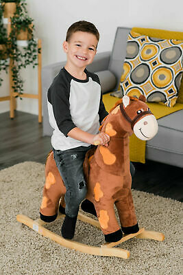 Animal Toddler Rocker Baby Kids Rocking Infant Children Nursery Toy Walker Horse