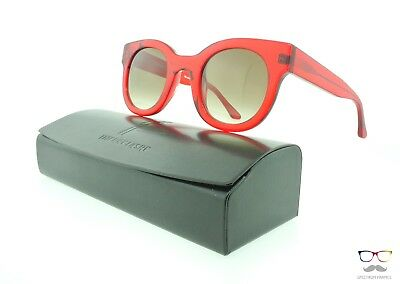 Thierry Lasry Sunglasses Celebrity 462 Red Frames / Grey Gradient Lenses