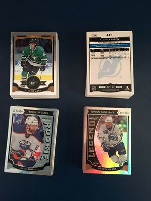 OPC O-Pee-Chee 2015-16 RAINBOW FOIL-ROOKIES-LEGENDS-LOT-U PICK TO COMPLETE SET