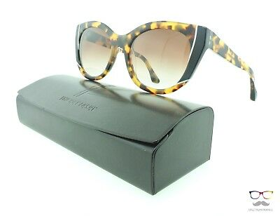 Thierry Lasry Sunglasses Nevermindy 228 Tokio Tortoise Cat-eye / Brown Gradient