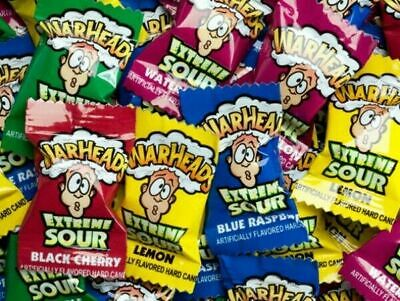 50 x WarHeads Extreme Sour Bulk Lollies Party Favour Confectionery Sweets