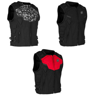 Speed & Strength Mens Critical Mass Fitted Motorcycle Vest - Pick Size & Color