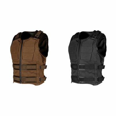 Speed & Strength Mens True Grit Armored Sportbike Motorcycle Vest - Size & Color