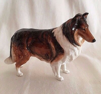 "ROYAL DOULTON Rough Collie Champion Applause  Early HN 1058 7.5"" Long Scarce"