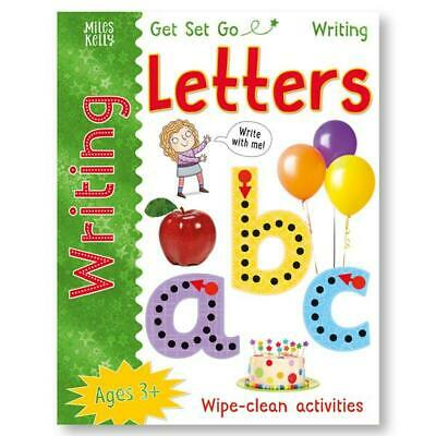 Learn to Write LETTERS Wipe Clean Book With Easy Dry Erase Wipe Clean Pen Kids