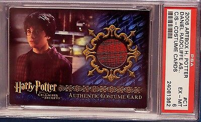 Harry Potter-Daniel Radcliffe-COS-Costume Card-Authentic-Graded
