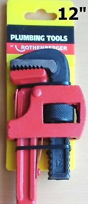 "Genuine Rothenberger Pipe Wrench Heavy Duty Stillson 12"" - 300mm"