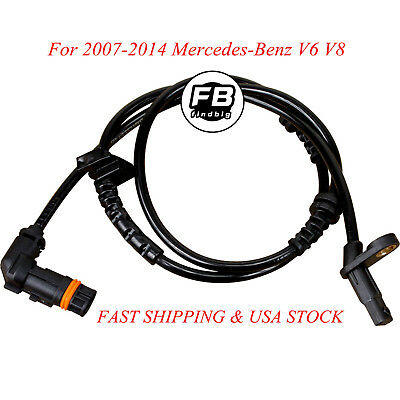 New Front ABS Wheel Speed Sensor for 2007-2014 Mercedes-Benz V6 V8 2219057400