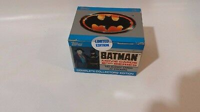 Topps Batman Movie Cards 2nd Series Complete Collectors Limited Edition - Sealed