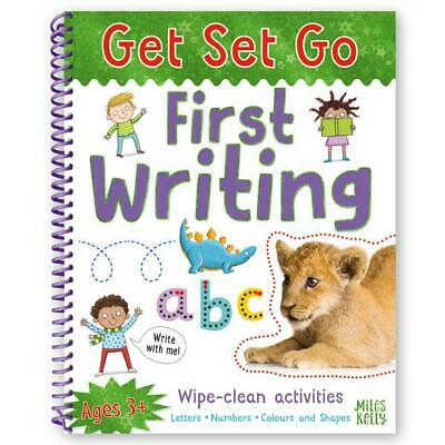 Learn to write LETTERS NUMBERS COLOURS SHAPES Wipe Clean Activity Book