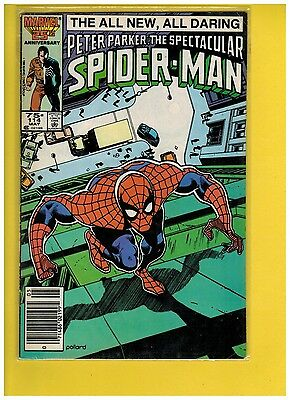 Spectacular Spider-Man #114 (Mar 1986, Marvel) F/VF 7.0