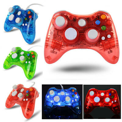 For Microsoft Xbox 360 & PC USB Wired/ Wireless Game Controller Joypad Gamestick