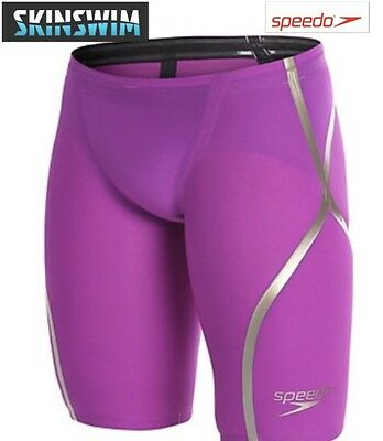 Speedo LZR racer x high waisted jammers purple/gold size 26