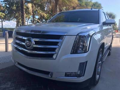 2015 Cadillac Escalade Luxury 4dr SUV 2015 Cadillac Escalade Luxury SUV Miles Pearl White SUV Florida CLEAN! Beautiful