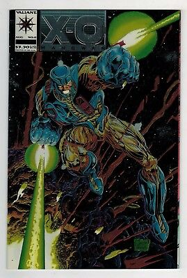 X-O Manowar #0 (1993 Valiant) Extremely Rare 1 of a kind Cover Error NM/NM+
