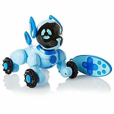 NEW WowWee Chippies Blue Chipper Robot Toy Dog Android iOS Chip