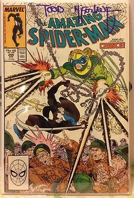 Amazing Spider-Man #299 Signed by Todd McFarlane 1st Venom Appearance VF+