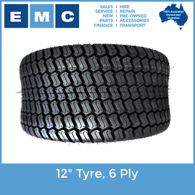 "Tyre, 12"" Heavy Duty 6 Ply (23X10.50-12) for Low Speed Vehicles"