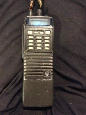 GE Ericsson MPA M-PA PAJ03 UHF VHF HAM Radio USA Made w/ Battery