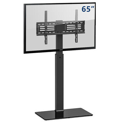 FITUEYES 50'' 55 60 65 70 72 75 76 80 inch TV Stand with Swivel Mount,Save Space