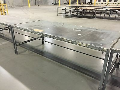 """Steel Assembly Work Bench Welding Table - 96""""L x 42""""D..."""