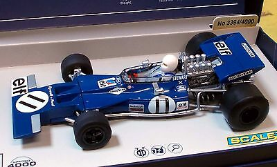 "Scalextric 1/32 C3655A ""legends"" Tyrrell 003, Jackie Stewart, #11, Ltd. Ed., Nib"