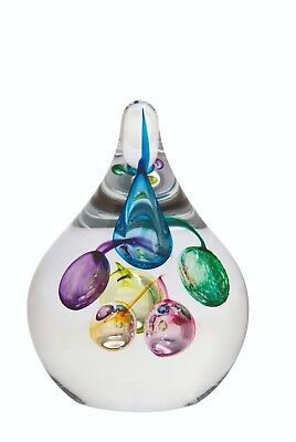 Caithness Glas Party! Luftballons bunt Briefbeschwerer 11cm U11039 UK