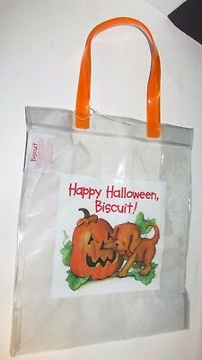 Biscuit the puppy dog NEW Halloween candy bag trick or treat Barnes & Noble