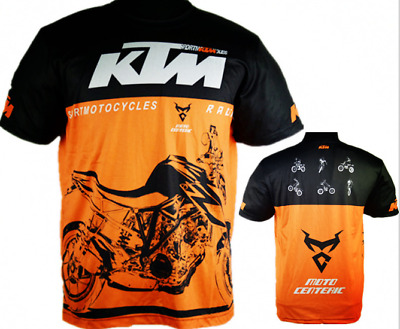 NEW KTM T-shirt motocross Motorcycle biker Quick-dry road Jersey short T shirt