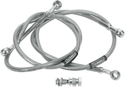 RUSSELL R08277 Cycleflex Brake Line Two-Line Race Kit