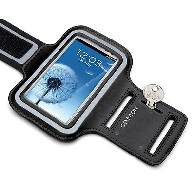 Sports armband for Samsung Galaxy S6 / Galaxy s6 Edge, with stripe scratch