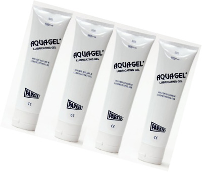 Aquagel Lubricating Jelly 5 oz Tube - Parker Laboratories - (Pack of 4)