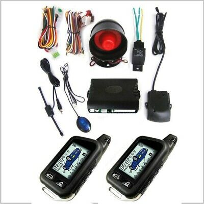 Two-ways Car Security System Alarm Start Keyless Entry Remote Start&Push Button