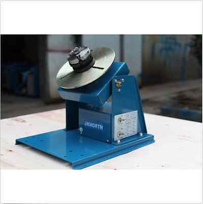 """BY-10 Rotary Welding Positioner Turntable Mini 2.5"""" 3 Jaw Lathe Chuck bi"""