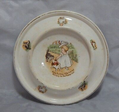 Antique 1905 Royal Baby Plate Baby Bunting
