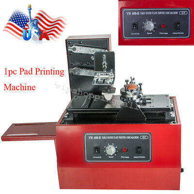 High Quality Electric Pad Printer Printing Machine T-Shirt INKPRINT PVC MUG USA
