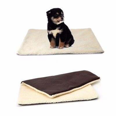 Winter Pet Blanket Dogs & Puppy Cat Soft Warm Bed Travelling Mat