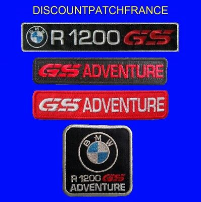 BMW R 1200 GS, ADVENTURE. patch écusson thermocollant aufnäher embroided patches
