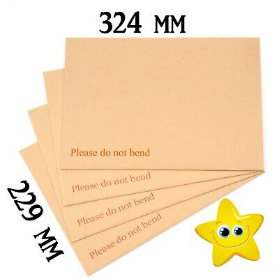 A4 Size Hard Board Backed Envelopes Good Quality for letters Certificates photos