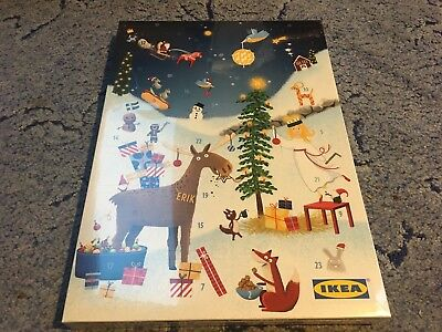 ikea adventskalender 2017 mit 2 x 5 ikea aktionskarten schokolade neu picclick de. Black Bedroom Furniture Sets. Home Design Ideas