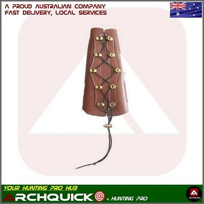 New Leather Archery Wrist Arm Guard Compound Bow Recurve Bow Arm Protection