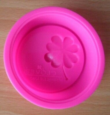 6.5 Cm Four Leaf Lucky Clover Silicone Mold Baker Cupcakes Soap Decoration