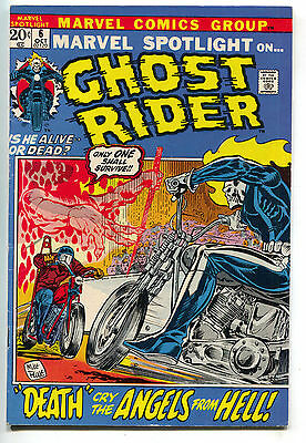 Marvel Spotlight 6 1972 VF 2nd Ghost Rider Johnny Blaze Origin