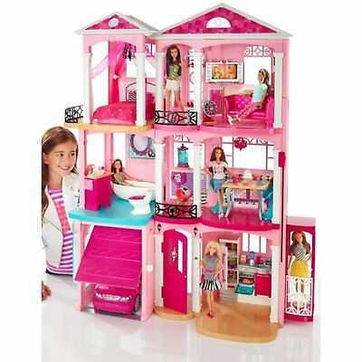 Barbie Dreamhouse Playset with 70+ Accessory Pieces Dream house Girls Doll New