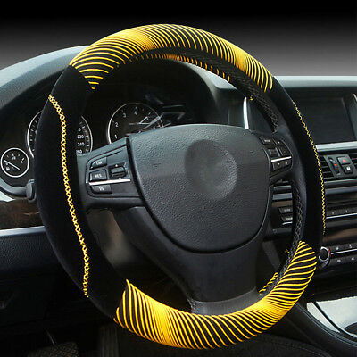 Universal Winter Warm Plush Steering Wheel Cover Auto Car Truck 38cm/14.96in