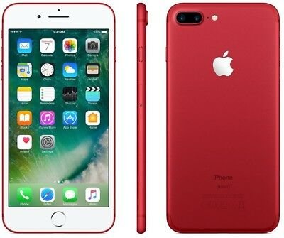NEW Apple iphone 7 plus 256GB red