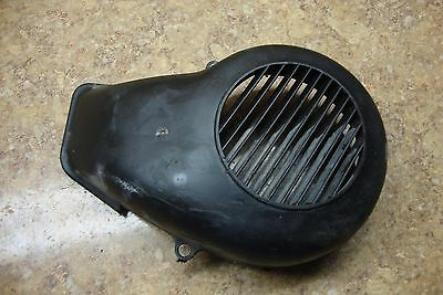 1988 Yamaha Scooter CG50 CG 50 Jog Engine Cover Panel Piece Motor Plastic Fan L4