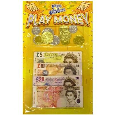 Childrens Play Money Notes And Coins Kids Toys Learning