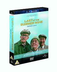 Last of the Summer Wine - Series 3 & 4 [DVD] [1976] [1973] **NEW SEALED**