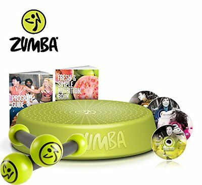 Zumba Fitness Incredible Results DVD-Set + Zumba Step Rizer + Toning Sticks 0,5